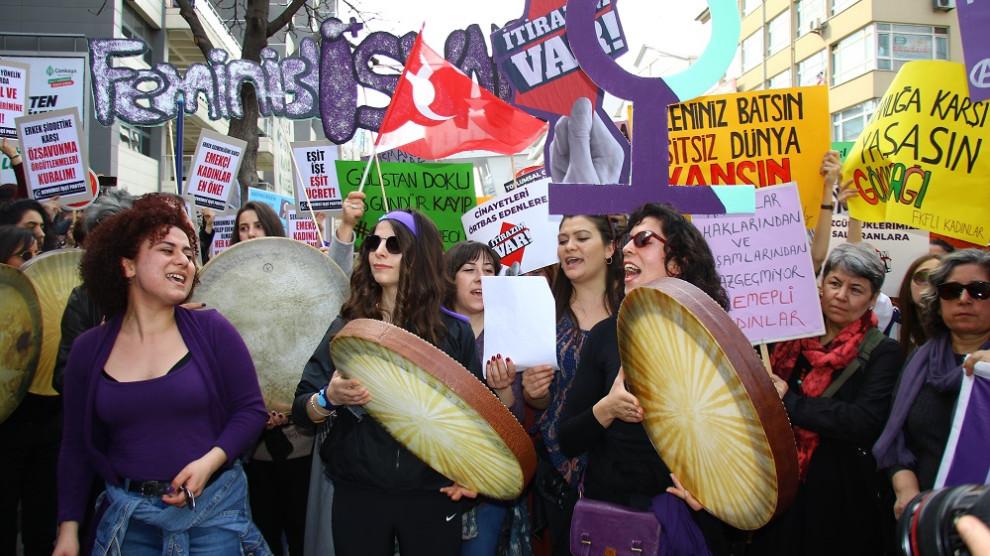 Bildergebnis für Kadınlar Ankara'da yürüdü: Örgütlenelim, direnelim